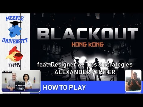Blackout Hong Kong Board Game – How to Play & Setup, featuring the designer Alexander Pfister