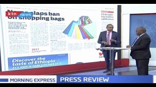 NEMA slaps ban on shopping bags | Press Review