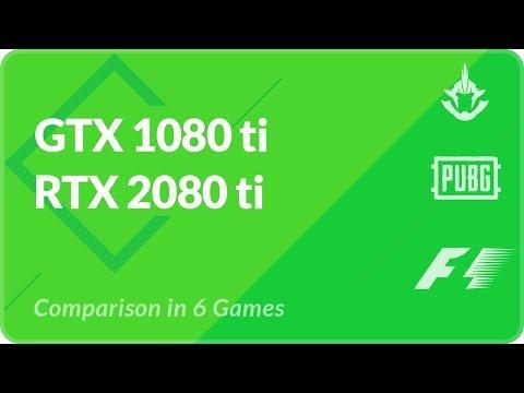 RTX 2080 vs gtx 1080 ti Benchmark in PUBG, Shadow of War, Rainbow