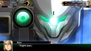 Super Robot Wars V (EN) -  Kurz's Sacrifice & Jamie's End (Stage 44B)