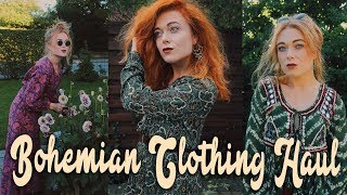 Bohemian Autumn N Winter Try On Clothing Haul