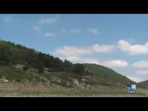 La diga di Mignano all'asciutto
