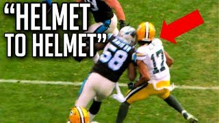 NFL Nasty Helmet To Helmet Hits Compilation (Warning) || HD