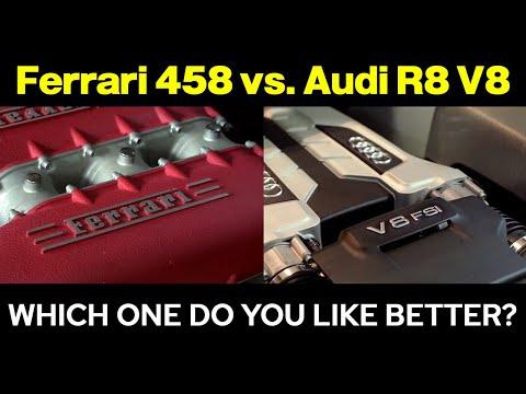 Can Audi R8 V8 4.2 FSI sound like Formula 1 | Natural enemy 458