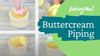 Top buttercream piping tips & techniques