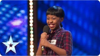 Asanda Jezile The 11yr Old Diva Sings 'Diamonds'   Week 3 Auditions | Britain's Got Talent 2013