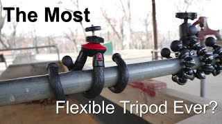 The Most Flexible Tripod Ever?
