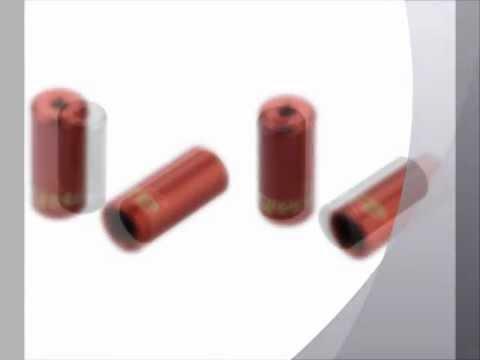 Jagwire Endhülsen 2 Stück Endkappen 5mm für Bremszug rot CC715