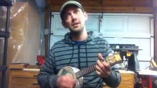 Black Owl Guitars - Banjolele - By the Light of the Silvery Moon - Doris Day