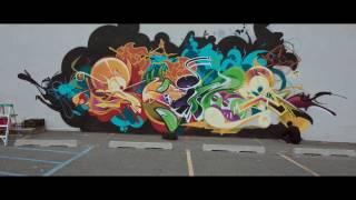 VRY WRM x RIME Graffitti Mural Video (AW16)