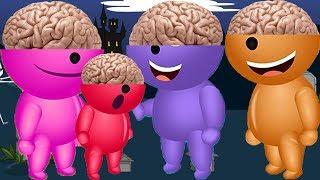 Mega gummy bear Wrong Ears Baby gummy bear Wrong brain Finger Family Song Dance song for kids