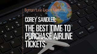 The Best Time to Purchase Airline Tickets