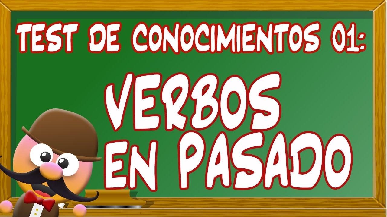 INGLÉS PARA NIÑOS CON MR PEA - TEST DE CONOCIMIENTOS 01. [VERBOS EN PASADO]