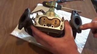Nikki V Twin Carb Reassembled { Briggs and Stratton Intec}