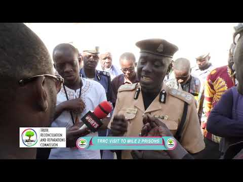 TRRC VISITS MILE 2  PRISON 18.01.19 (видео)