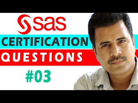 SAS Certified Specialist : QUESTION #03 - Base Programming ...