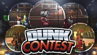 TINY SLASHER FLYING TO DUNK ON TOWERING DEFENDERS! DUNK CONTEST WITH TEAM OF SLASHERS!