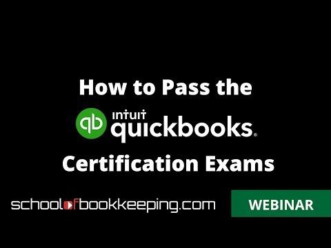How to Pass the QuickBooks Online ProAdvisor Certification Exam ...