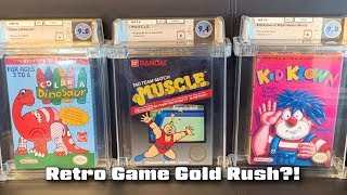 Are We In A Retro Game Gold Rush?!