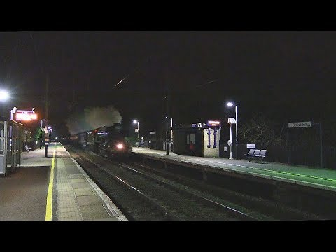 60103 'Flying Scotsman' passes Crews Hill with 'The Cathedra…
