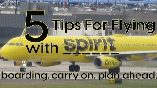Flying with Spirit Airlines: 5 Ways To Avoid Fees, Save Time and Travel with Bags   Review