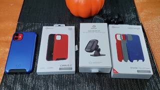 """Nimbus 9 """"Cirrus 2"""" Case and Shields, also Car Mount For The Apple iPhone 11/Xr"""