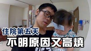 彼得爸與蘇珊媽育兒日記Ep126|住院第五天不明原因又高燒|彼得爸與蘇珊媽