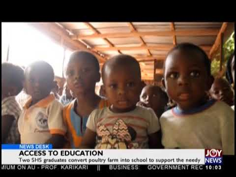 Access To Education - News Desk on JoyNews (24-9-18)
