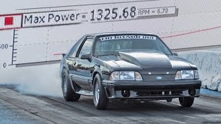1300hp Turbo FORD Small Block Mustang!