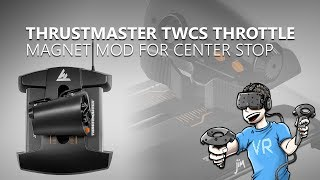 Elite Dangerous | Adding a Center Stop to Thrustmaster TWCS Throttle