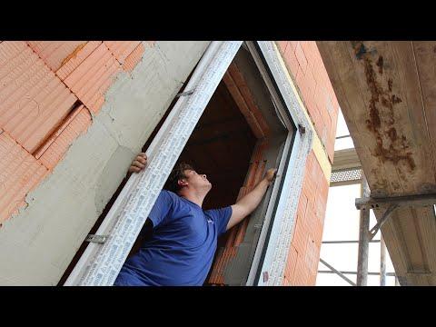 Předsazená montáž oken