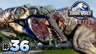 GIGANOTOSAURUS Vs SPINOSAURUS!!! - Jurassic World Evolution FULL PLAYTHROUGH | Ep36HD