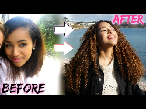 Video How to Grow Your Hair | Major Heat Damage + Curly Hair