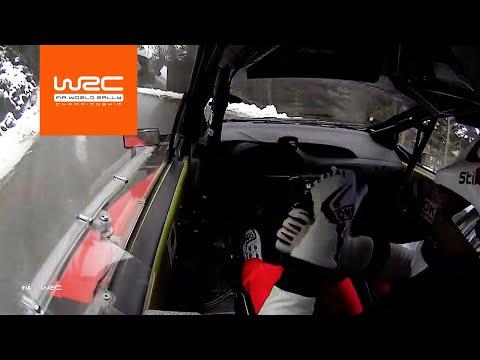 WRCラリーモンテカルロ2020 SS9-10ハイライト動画