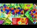 Making Easy 3d roses Comparison of shilpkar or mouldit dozen air dry clay Palette knife painting