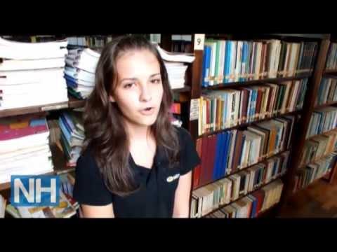 Aluna da IENH conquistou o 1º lugar no Concurso Internacional de Cartas