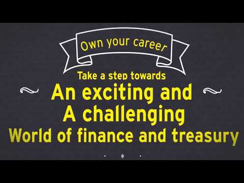 Certification in Applied Finance Treasury and Analytics - YouTube