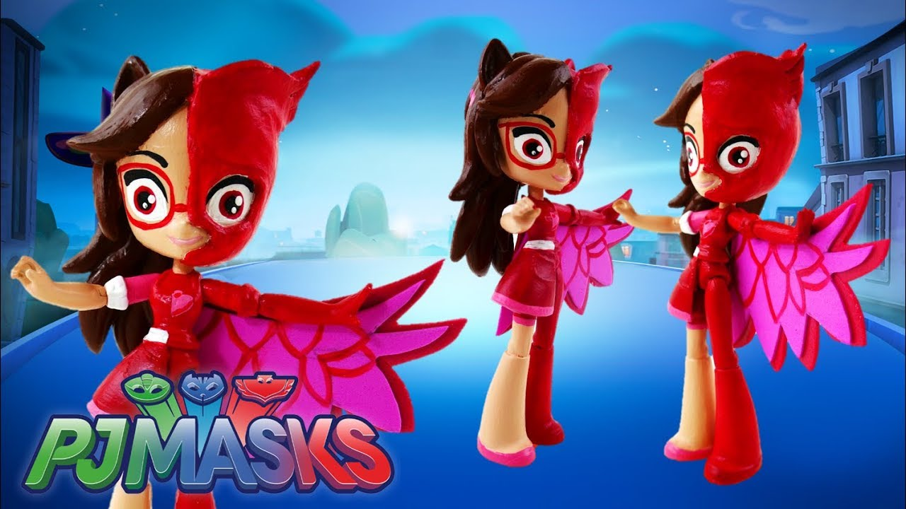 PJ Masks Split Pony Amaya Owlette Transformation Custom Equestria Girls Minis Doll