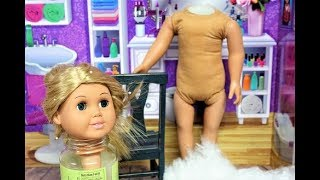Fixing Up An 18 Inch Doll || Saving Bugs 1st Doll