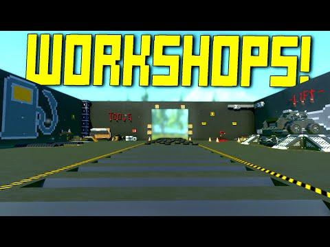 """We Searched """"Workshop"""" on the Workshop and Found... Workshops  - Scrap Mechanic Workshop Hunters"""