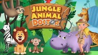 Доктор Животных из Джунглей/Jungle Animal Doctor.Играем в Доктора.Лечим Экзотических ЖивотныхМультик