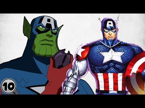 Top 10 Strongest Alternate Versions Of Captain America - Part 2