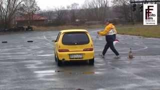 preview picture of video 'KJS rally sprint Biłgoraj 2013 Seicento Sporting'