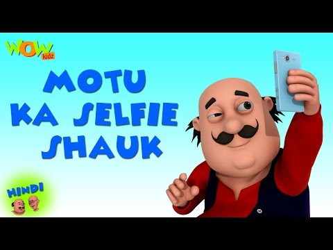 Motu Ka Selfie Shauk- Motu Patlu in Hindi - 3D Animation Cartoon -As on Nickelodeon