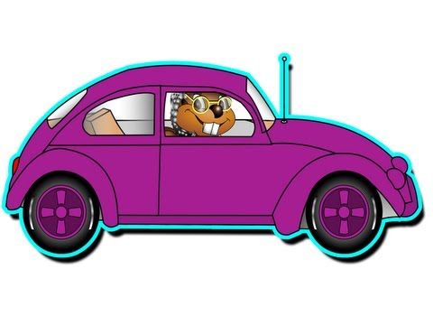 """Grandma's Got A Little Purple Car"" - Kids Learn Colors, Funny Song, Teach Children Colours"