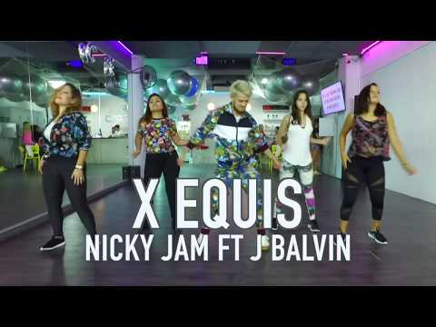 X (Equis) - Nicky Jam Ft J Balvin Coreo By Cesar James Zumba Cardio Extremo Cancun