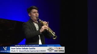 Juan Carlos Collado Castillo plays Étude 12 – Douze Études Caprices by Eugène BOZZA