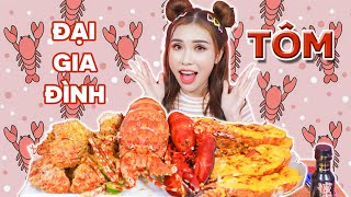 Thử Thách 24h Ăn Tất Cả Loại Tôm, Bữa Ăn 10 Triệu | PINKY HONEY