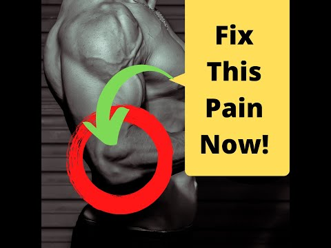How to Fix Tennis Elbow Pain and Golfers Elbow Pain