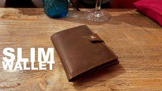 Slim Wallet Geldbörse Donbolso aus Leder. Warum ich keinen iClip/Magic Wallet gekauft habe - deutsch